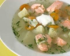 Recette soupe de poisson oukha à la russe