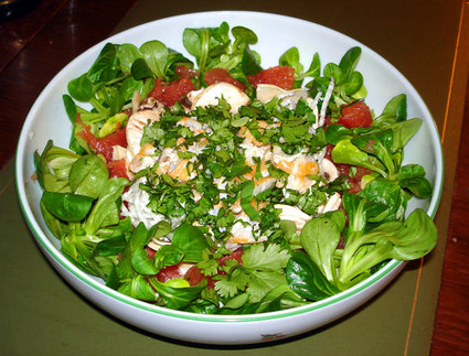 Recette de petite salade d'hiver