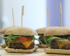 Recette cheeseburgers maison