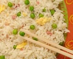 Recette riz cantonnais rapide