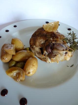 Recette de souris d'agneau confite citron et olive