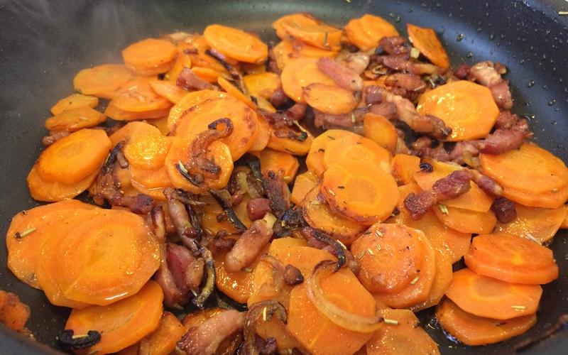 Recette poêlée de carottes pas chère et simple > cuisine étudiant