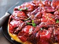 Recette de tarte tatin aux tomates séchées