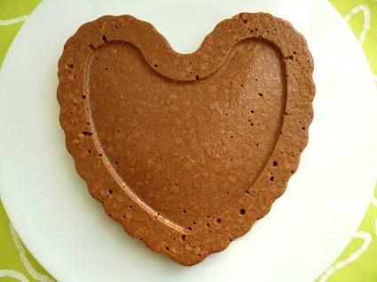 Recette de flan gâteau chocolaté aux protéines de riz et billettes ...