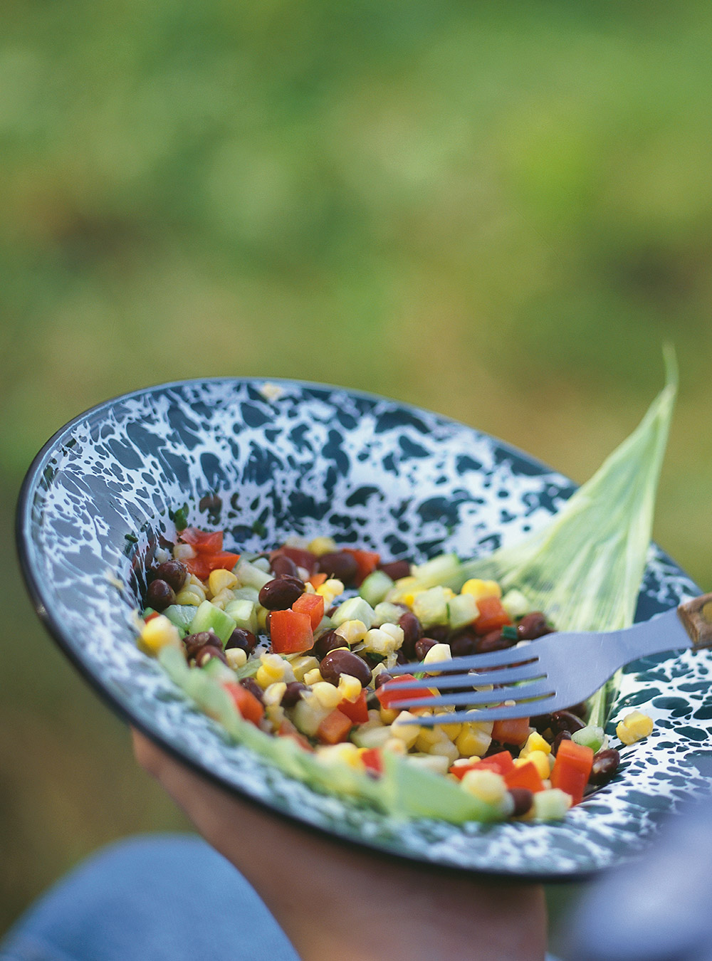 Salade de maïs et de haricots noirs | ricardo
