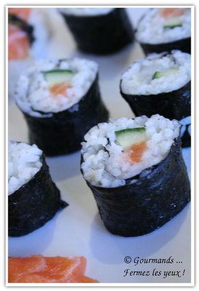 Recette de sushis et makis