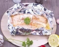 Recette papillotes de saumon au lait de coco