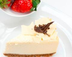 Recette cheese-cake au chocolat blanc
