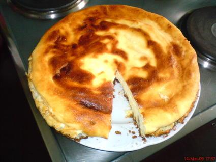 Recette de gâteau au fromage blanc et speculoos