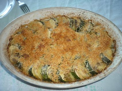 Recette de gratin de courgettes et pommes de terre