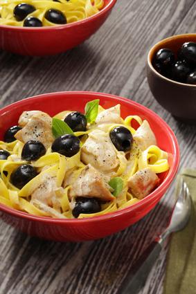 Recette de fricassée de volaille castillane aux olives noires ...