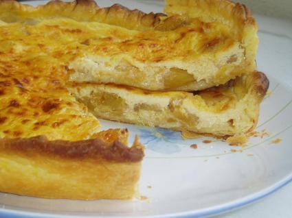 Recette de tarte à l'ananas frais parfumée au gingembre