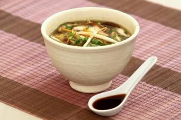 Recette de soupe thaïe épicée au poulet facile et rapide