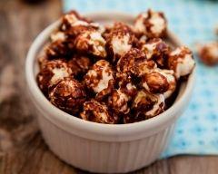 Recette pop corn au chocolat noir