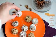 Recette de perles de fruits secs parfumées à la fleur d'oranger