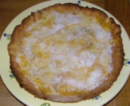 Recette de tarte d'antan abricots-coco