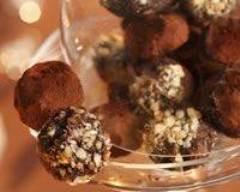 Recette truffes en chocolat