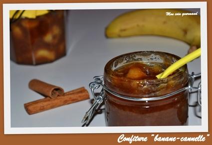 Recette de confiture banane-cannelle