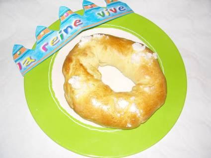 Recette galette des rois briochée (galette)