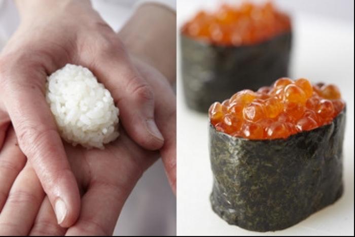 Recette de sushi cuirassé aux œufs de saumon facile