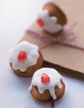 Mini-christmas cakes pour 10 personnes
