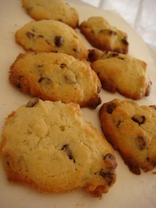 Recette de cookies moelleux au chocolat au lait