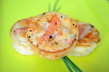 Recette de bouchées au saumon