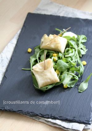 Recette de croustillants de camembert