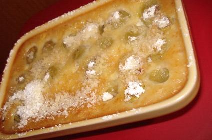 Recette flan aux raisins (flan, mousse)