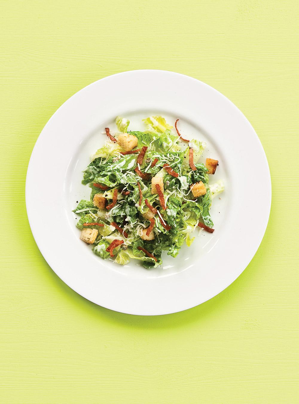 Salade césar légère | ricardo