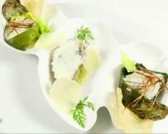 Recette huîtres chaudes version père et fils