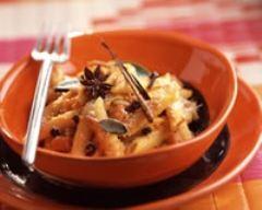 Recette pâtes au potiron et aux épices