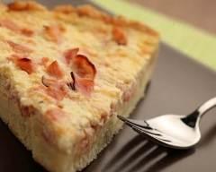 Recette quiche facile à la raclette et jambon