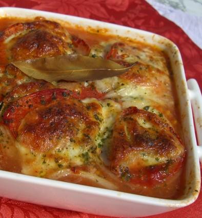 Recette de légumes du soleil à la mozzarella