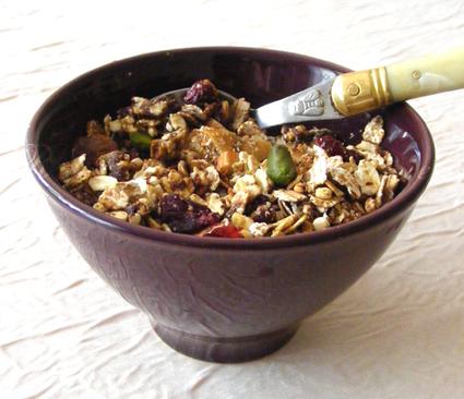 Recette de muesli (ou granola) maison