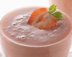 Recette milkshake à la fraise et au miel