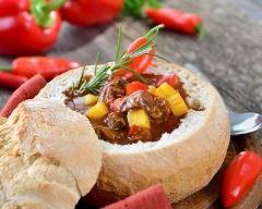 Recette pain surprise au ragoût de bœuf