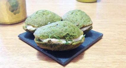 Recette de madeleines au matcha et à la crème au yuzu