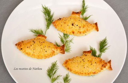 Recette de feuilletés au saumon fumé et fromage frais aux 5 baies ...