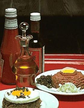 Steak tartare pour 4 personnes