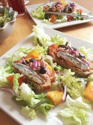 Recette de bruschetta thon et anchois