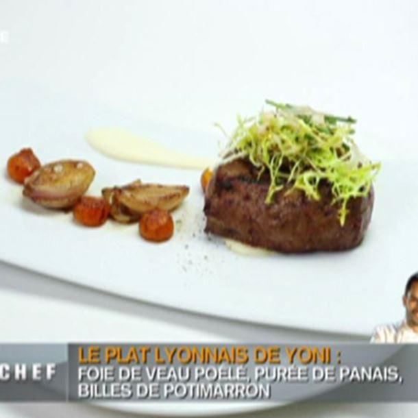 Recette salade de c pes et foie de veau recette - Recette foie de veau poele ...