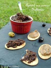 Recette de dips d'olives noires et caviar d'aubergines aux tomates ...