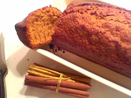 Recette de cake cannelle vanille