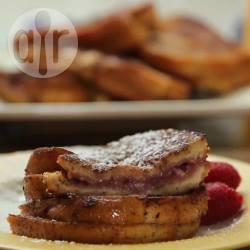 Recette pain perdu façon cheesecake à la framboise – toutes les ...