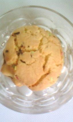 Recette de cookies au vermicelles multicolore