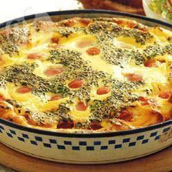 Recette clafoutis de tomates au fromage de chèvre – toutes les ...