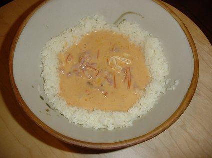 Recette de riz thaï au chèvre