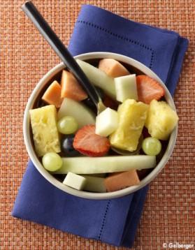 Salade de fruits tropicaux pour 4 personnes