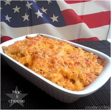 Recette de macaroni mac & cheese